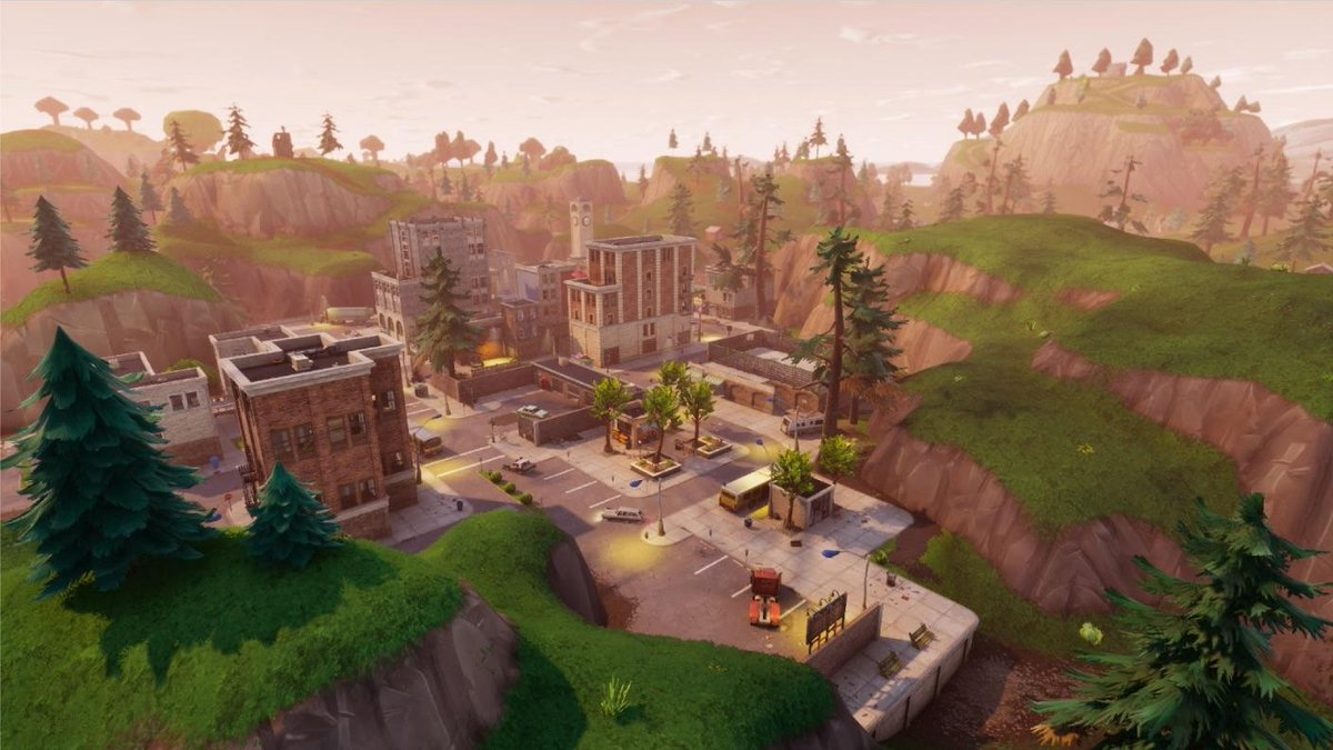 fortnite pleasant park treasure map where to find the week 7 battle star inverse - fortnite follow the map in pleasant park