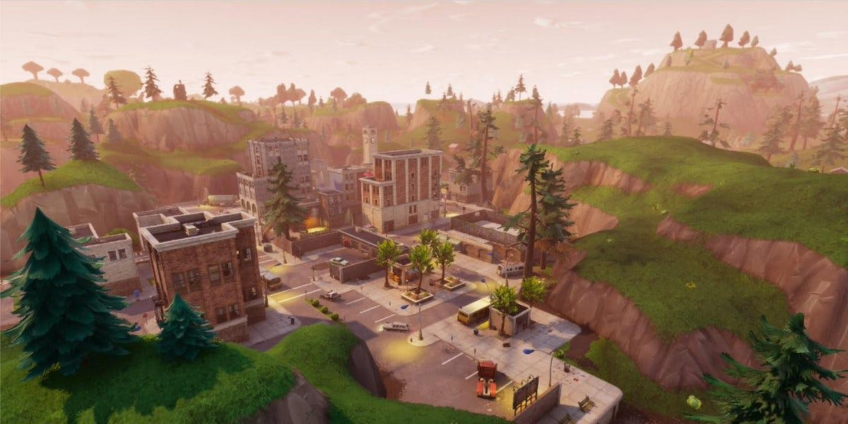 Fortnite Pleasant Park Treasure Map Where To Find The