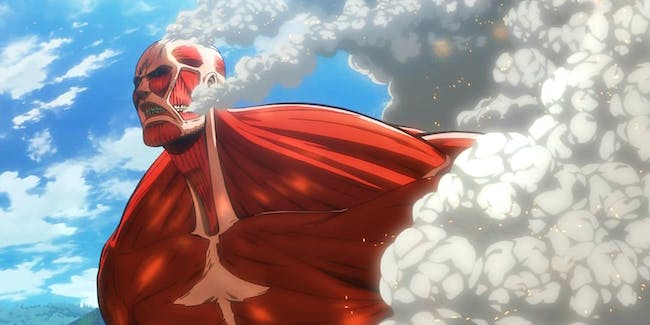 Colossal Titan -- 'Attack on Titan'