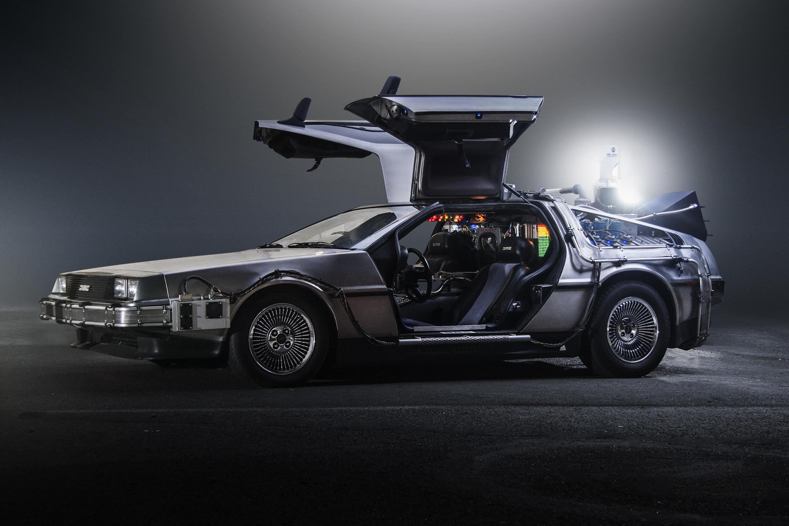 Reserve an all-new DeLorean DMC-12