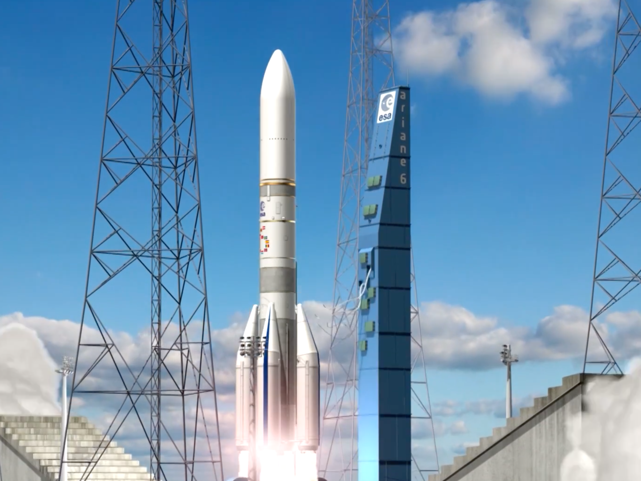 ESA's New Rocket is Incapable of Landing Back on Earth