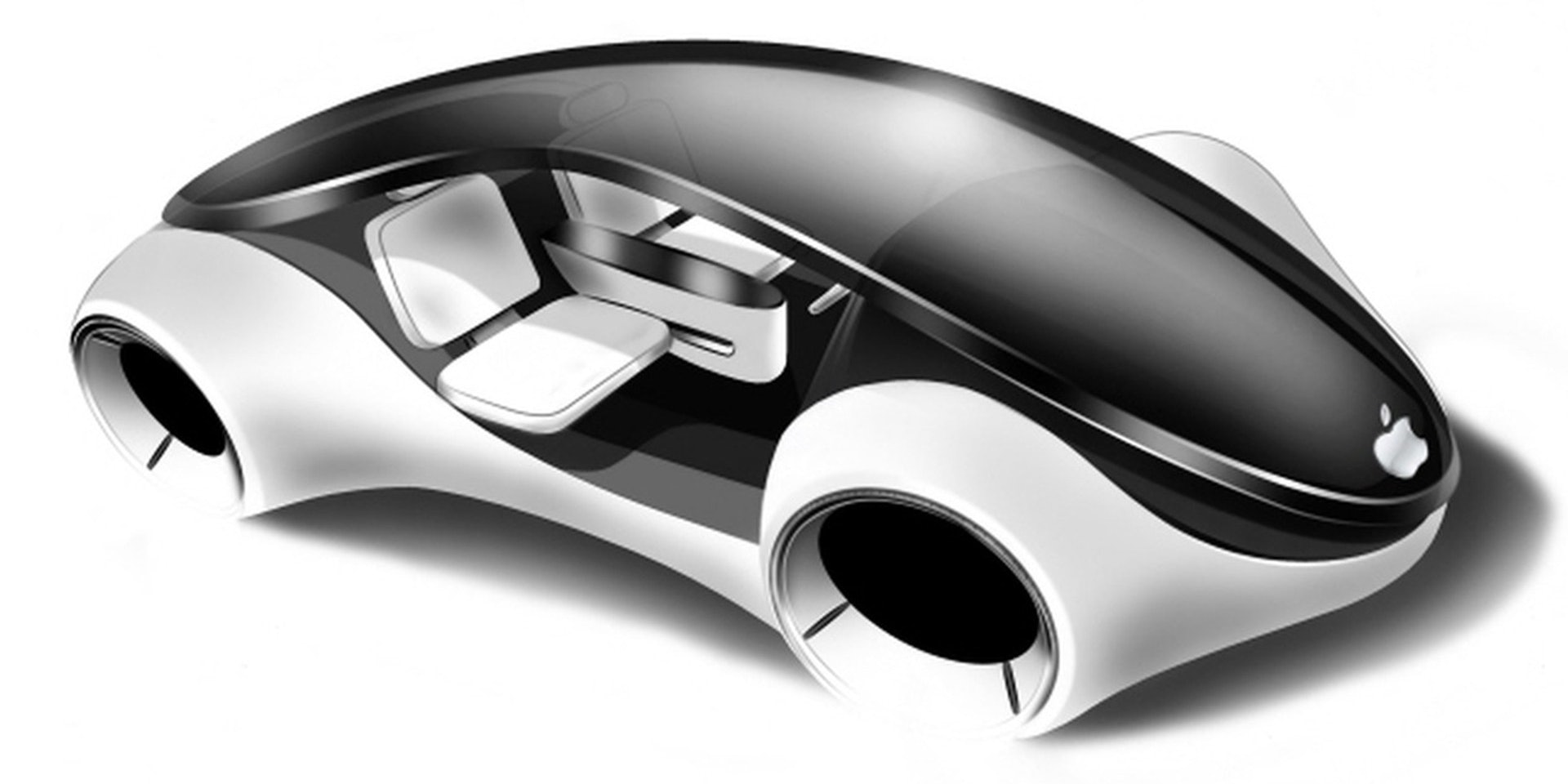 The yet-to-be-released Apple Car is illustrated in unofficial concept art.