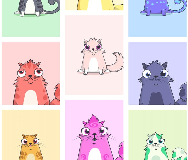 CryptoKitties.
