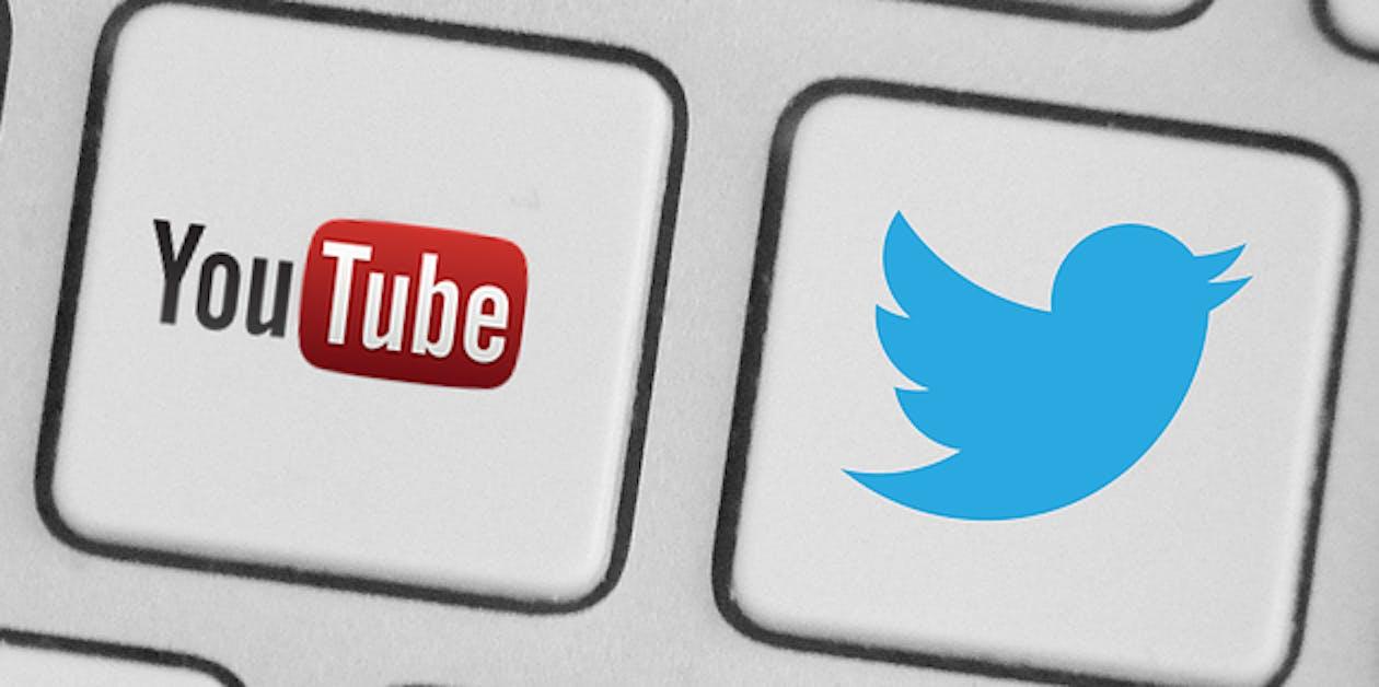 social media twitter youtube