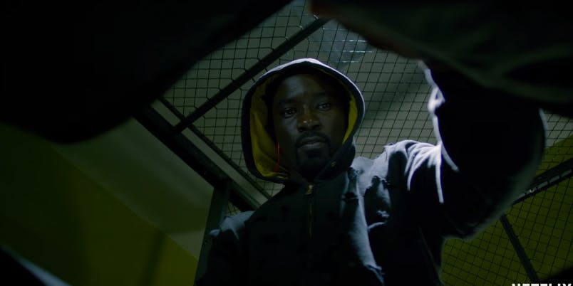 Mike Colter in Netflix's 'Luke Cage'