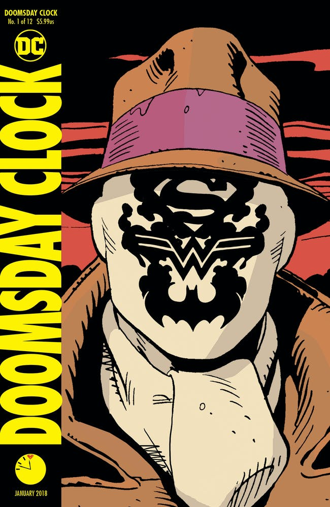 Doomsday Clock DC Comics Rorschach