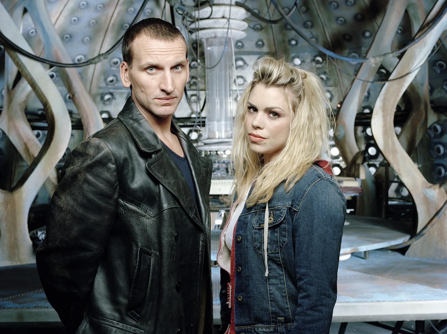 "Billie Piper as Rose in 'Doctor Who' back in 2005. The beginning of a different ""new"" era."