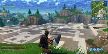 'Fortnite' players took matters into their own hands when it came to the destruction of Tilted Towers'.
