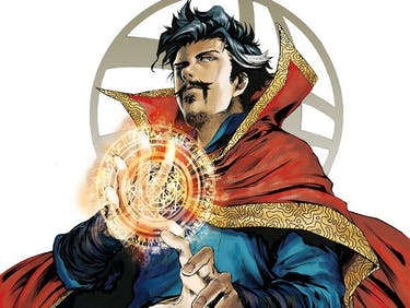 Marvel's 'Doctor Strange' Prequel Manga Isn't That Weird