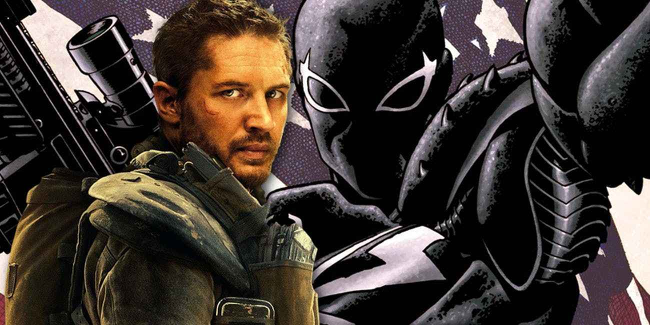 Marvel Agent Venom Tom Hardy