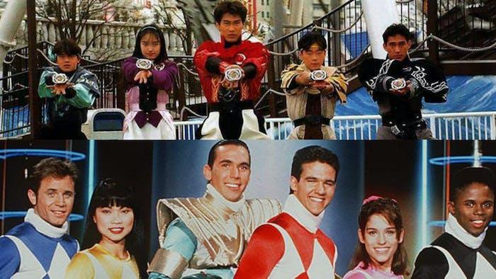 Power Rangers Zyuranger