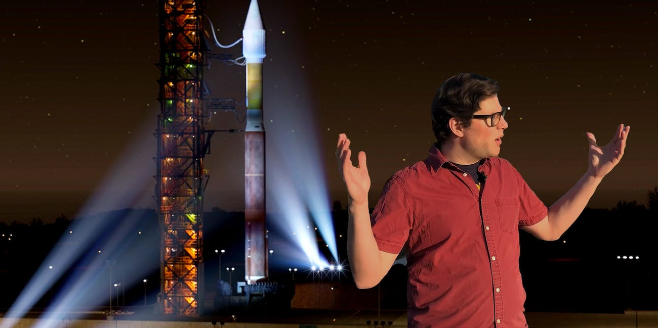 jeremy bent did not see the rocket launch