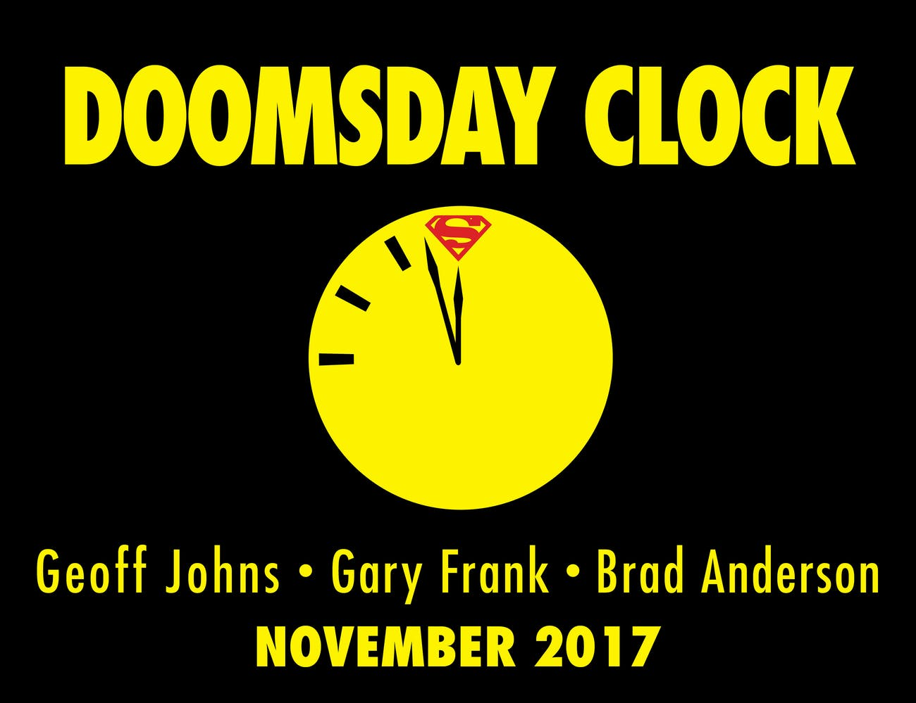 DC Doomsday Clock Superman Watchmen