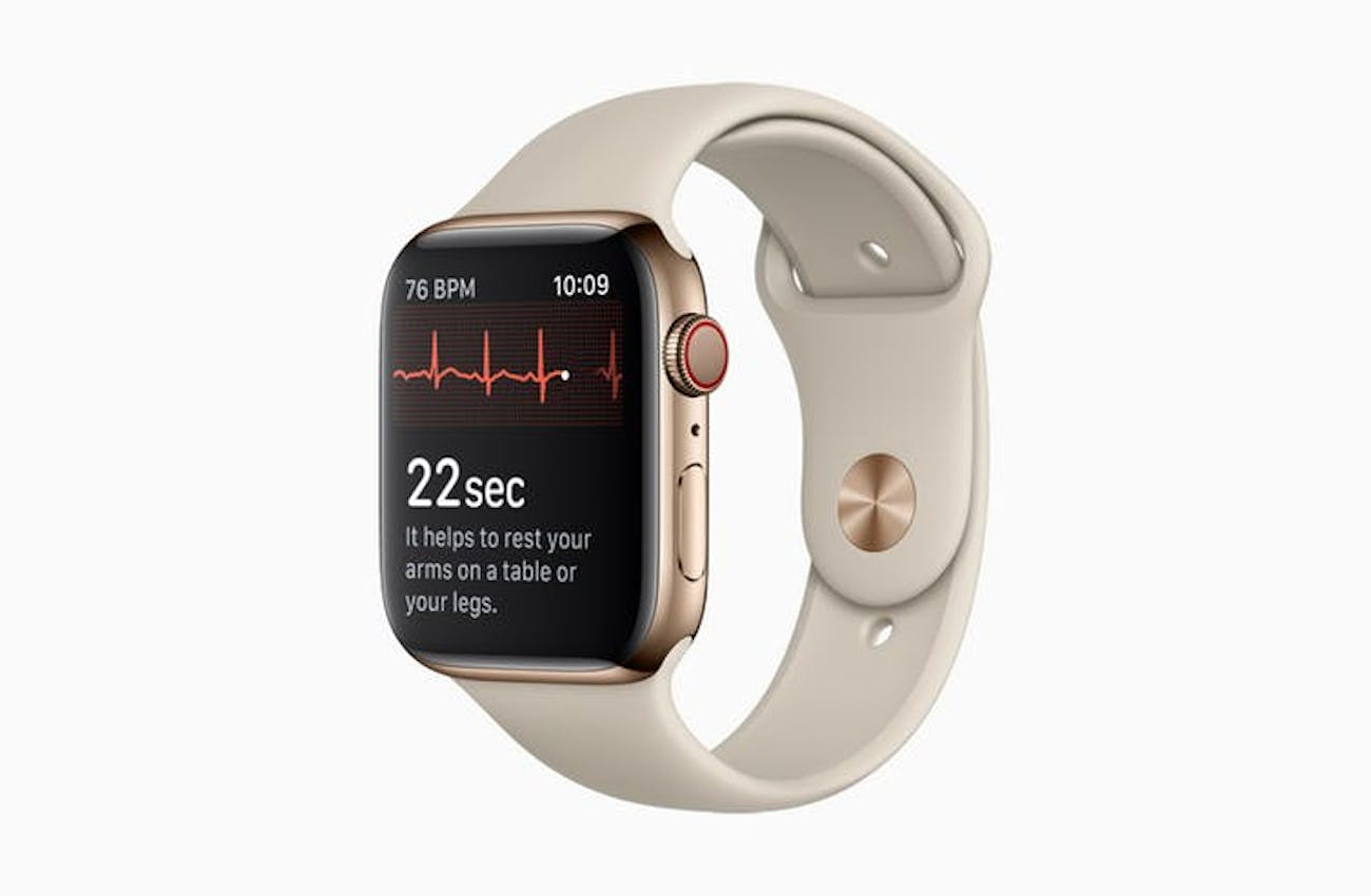 The first mainstream wearable device with ECG.