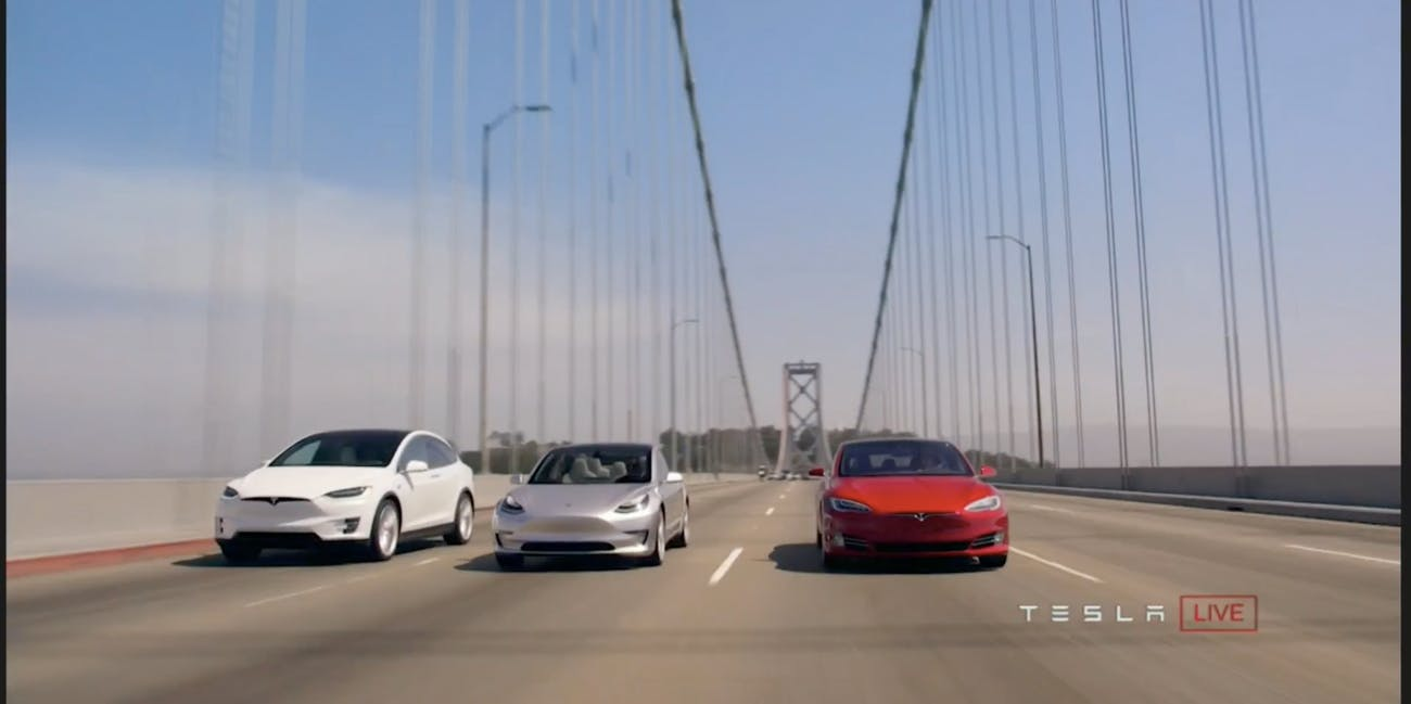 The Tesla Model 3 Will Come in a Short Range and Long Range Version