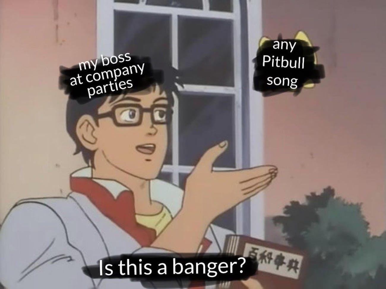 pitbull pigeon meme