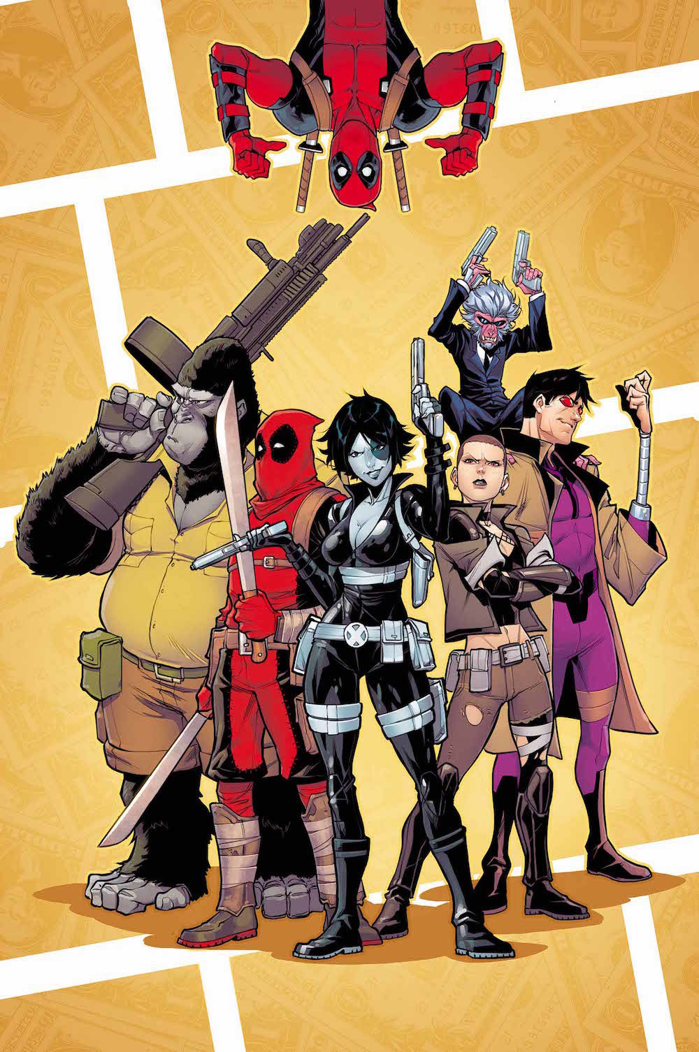 The Mercs for Money need a strong leader, and that's not Deadpool.