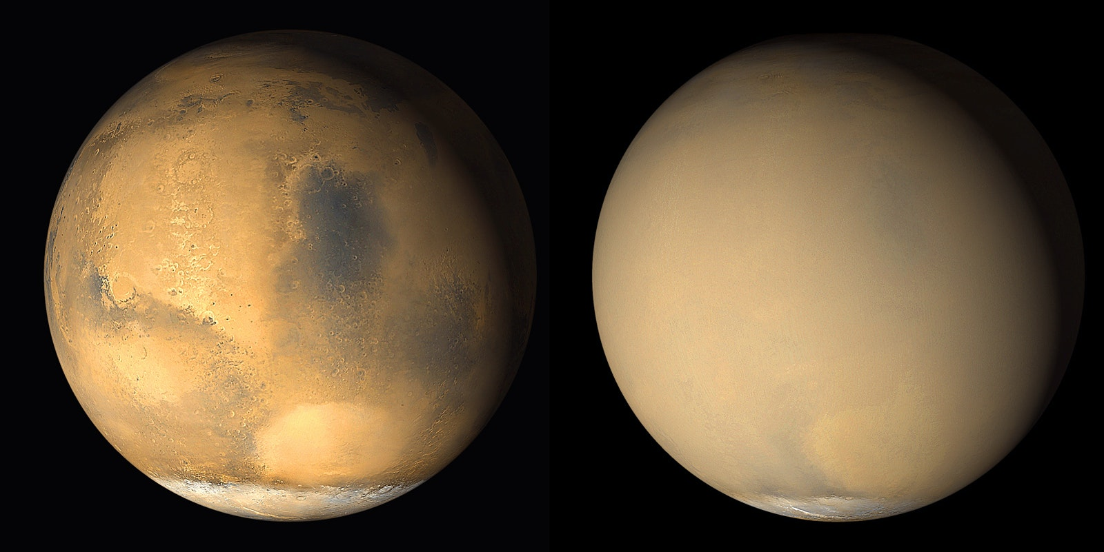 Mars, Space, NASA, Dust Storms