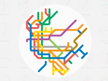 These Maps Reveal the World's Most Complex Subway Systems