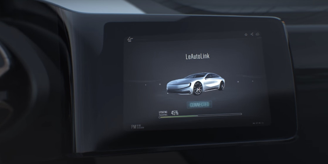 LeEco plans to build a completely connected car with on-screen media delivery.