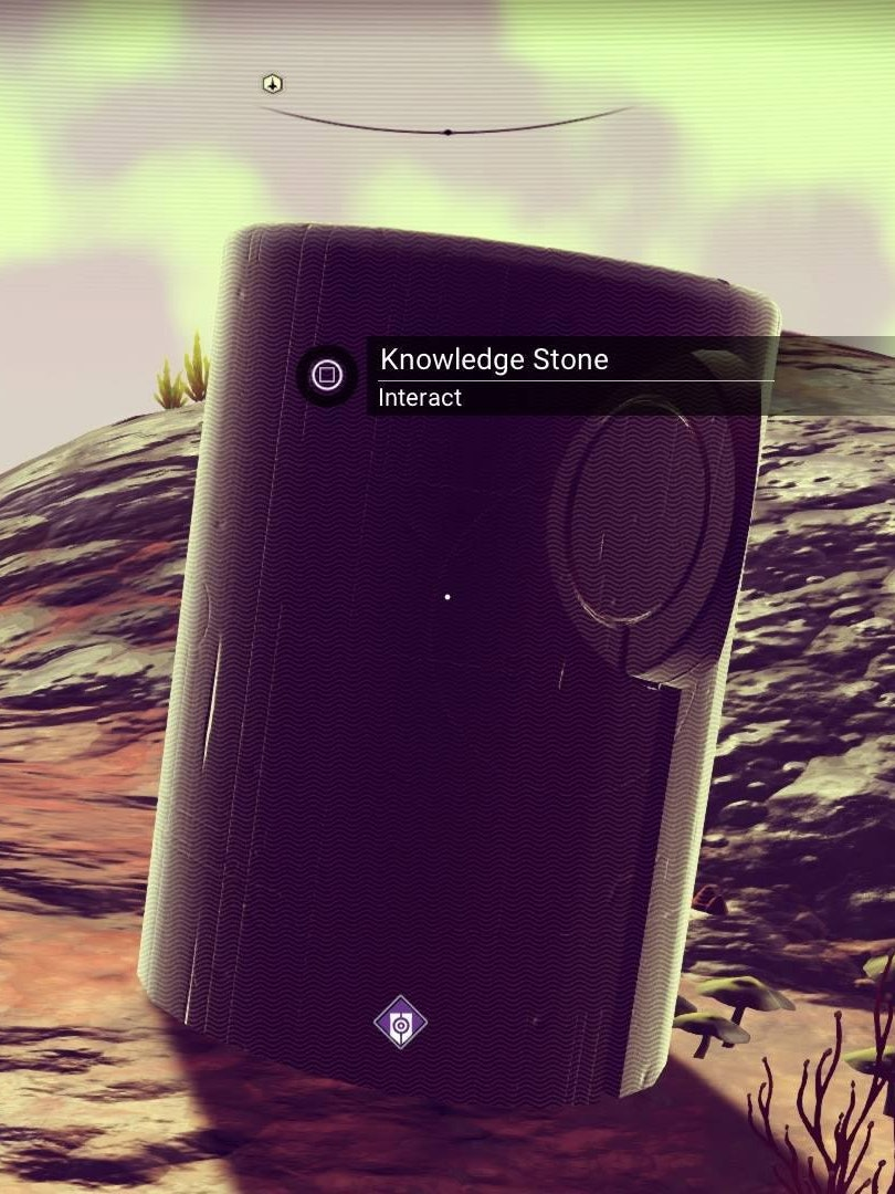 Love them knowledge stones.