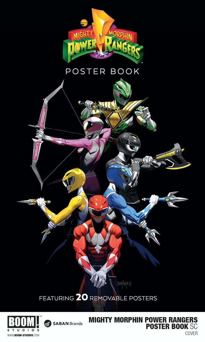 Po po power ranger pages to color - Power Rangers Boom Studios Poster