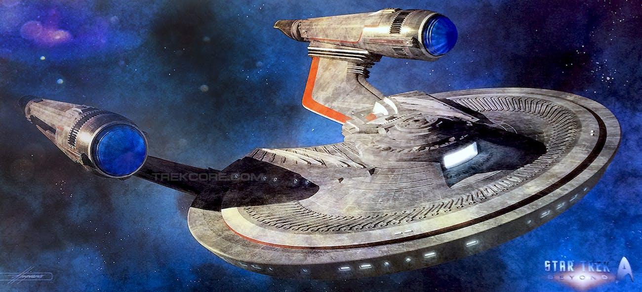 Star Trek Beyond''s New Ship Revelation Connects to Hardcore