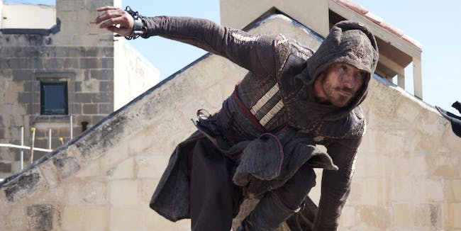 """Genetic memories enable the plot of """"Assassin's Creed."""""""
