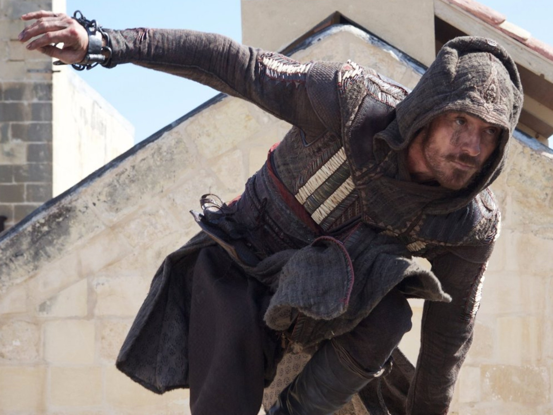 "Genetic memories enable the plot of ""Assassin's Creed."""
