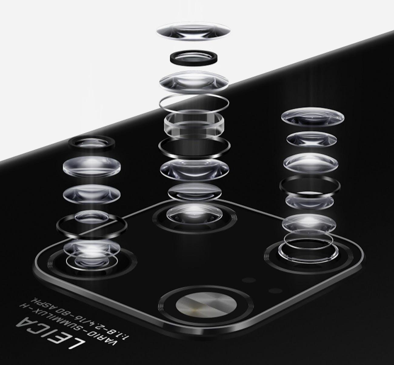 Huawei mate 20 pro cameras