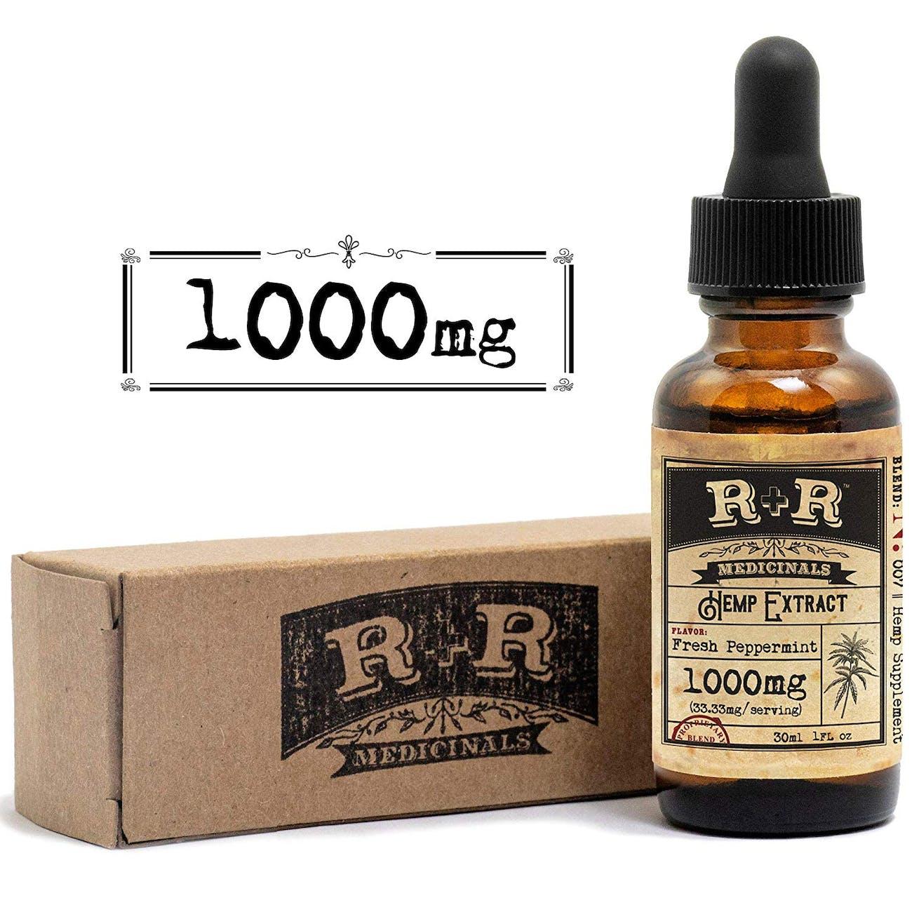R&R Medicinals Hemp Oil