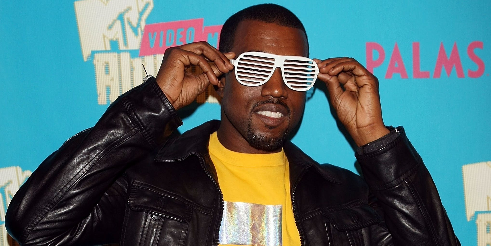 NEW YORK - AUGUST 7:  (U.S. TABS OUT) Rapper Kanye West poses backstage during a special Video Music Awards nominee taping of MTV's Total Request Live August 7, 2007 in New York City.  (Photo by Scott Gries/Getty Images)