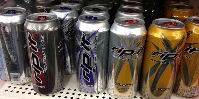 Rip It energy drink