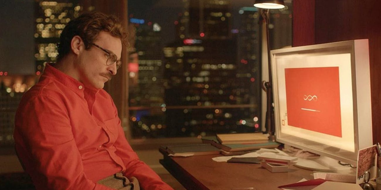 'Her' is a colorful but tragically sad movie about how technology influences human intimacy.