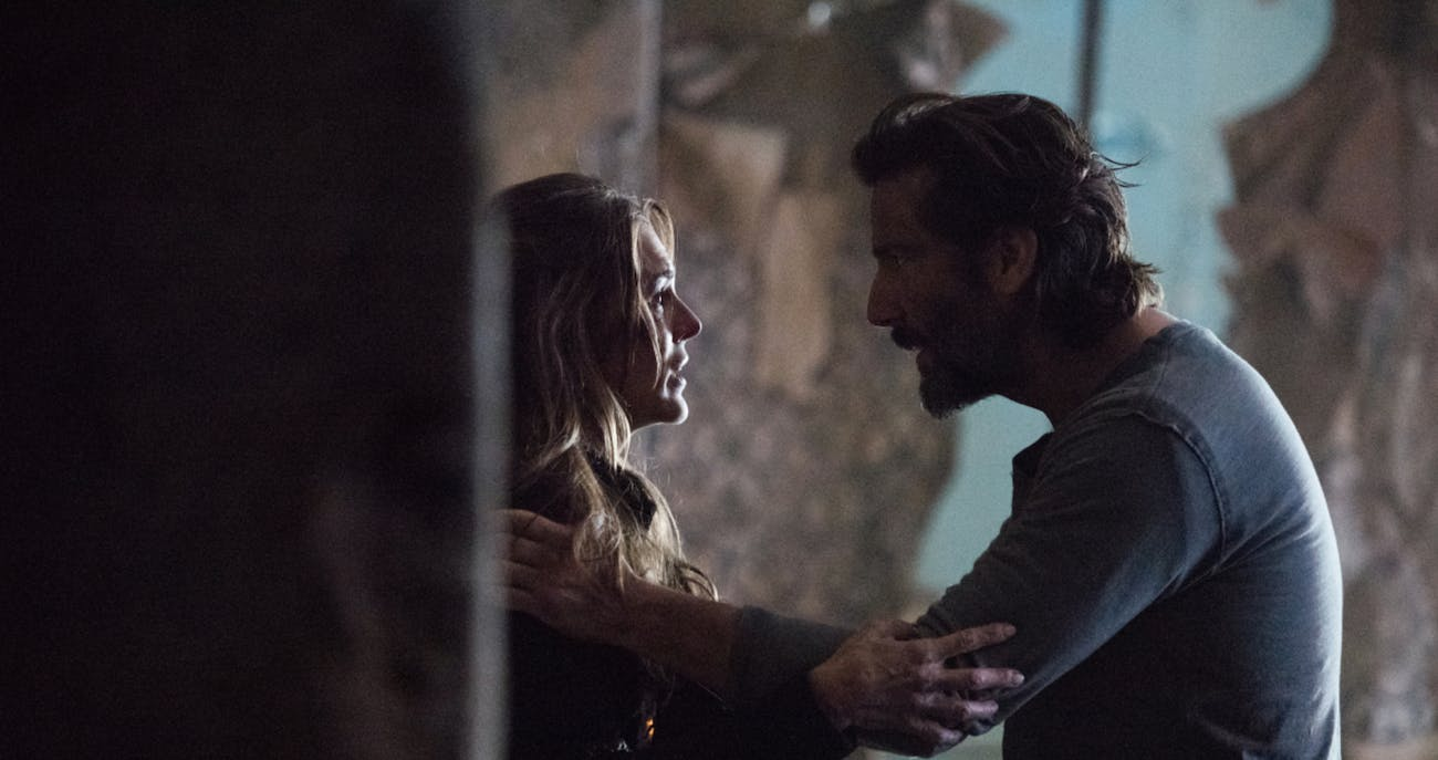 Abby and Kane in Season 4 of 'The 100'
