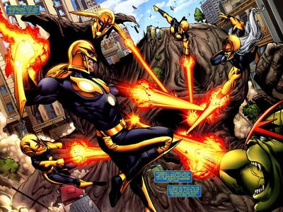A Guide to Marvel Comics' Nova Corps for the Upcoming 'Standoff' Series