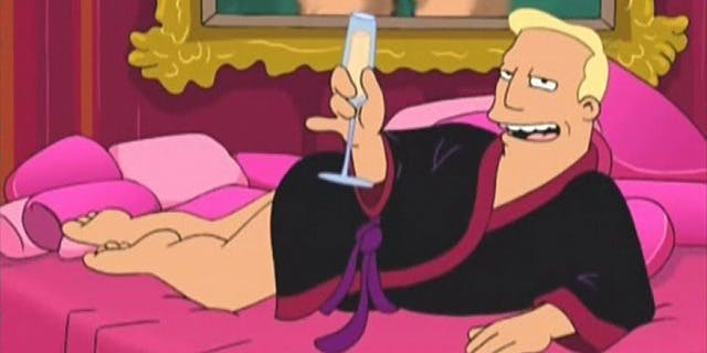 Zapp Brannigan from 'Futurama' reads Trump quotes