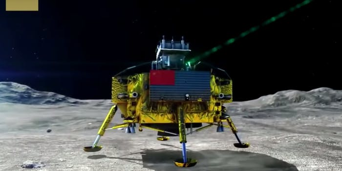 chinese lunar probe