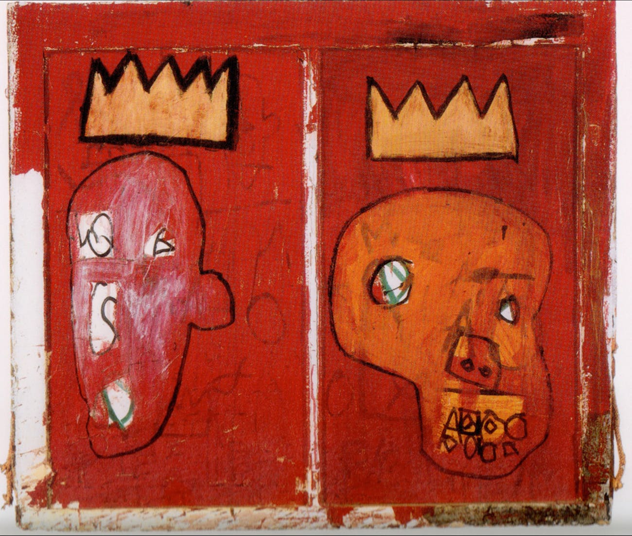 Jean Michel Basquiat's 'Two Kings', Black Mariah's painting of choice.