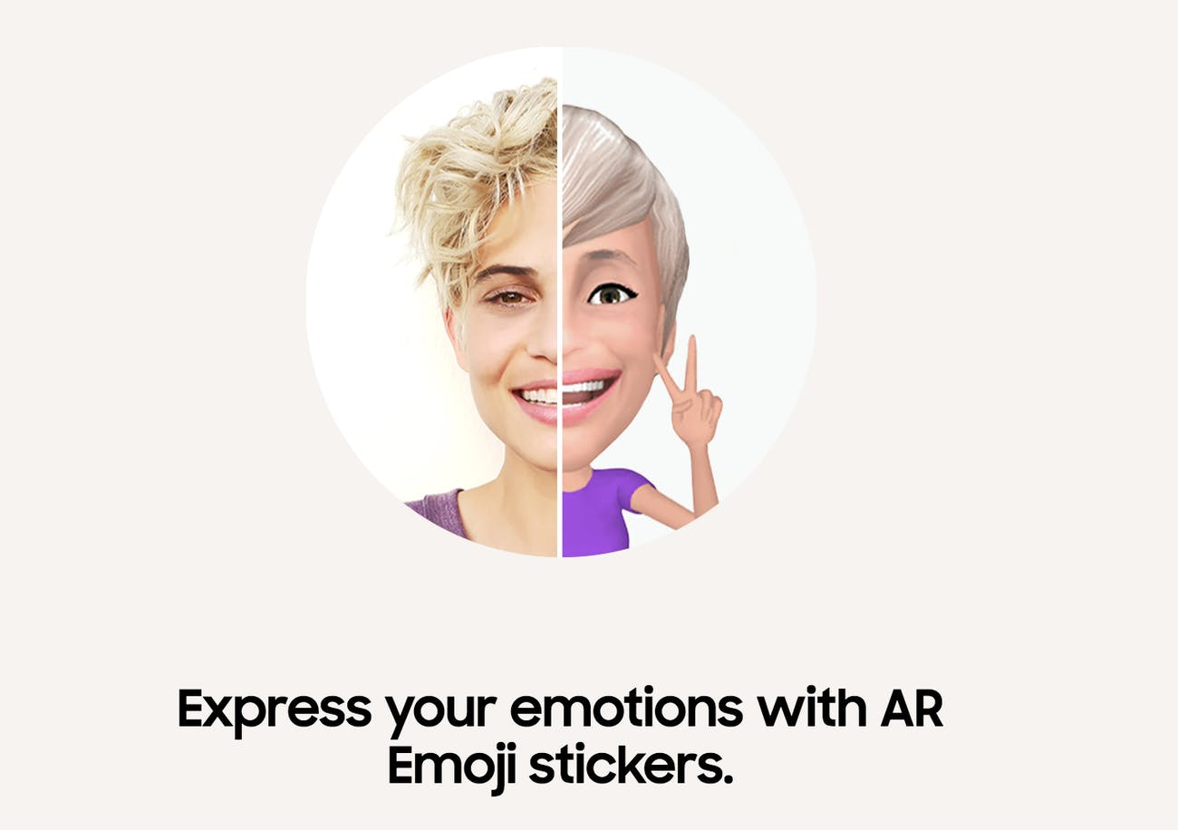 AR Emoji Samsung S9