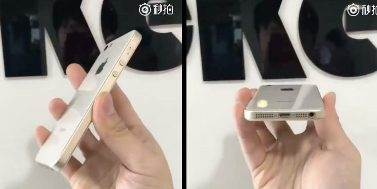 iphone se 2 rumor images leaked