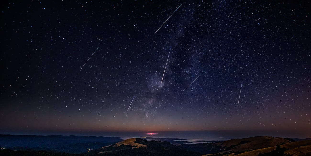 Perseid Meteor Shower 2016