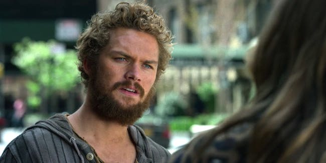 Finn Jones as Danny Rand in 'Marvel's Iron Fist'
