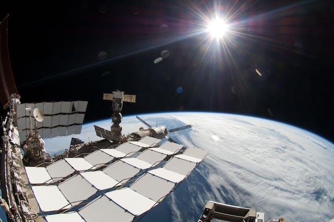 sun light space