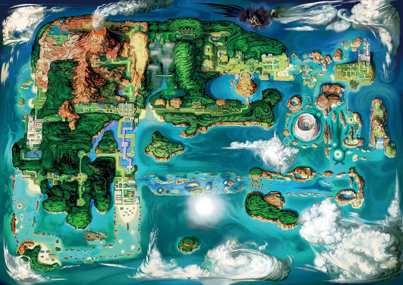 Pokémon's Hoenn Region