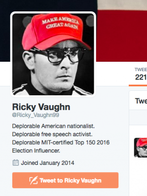 A prominent pro-Trump Twitter user was suspended.