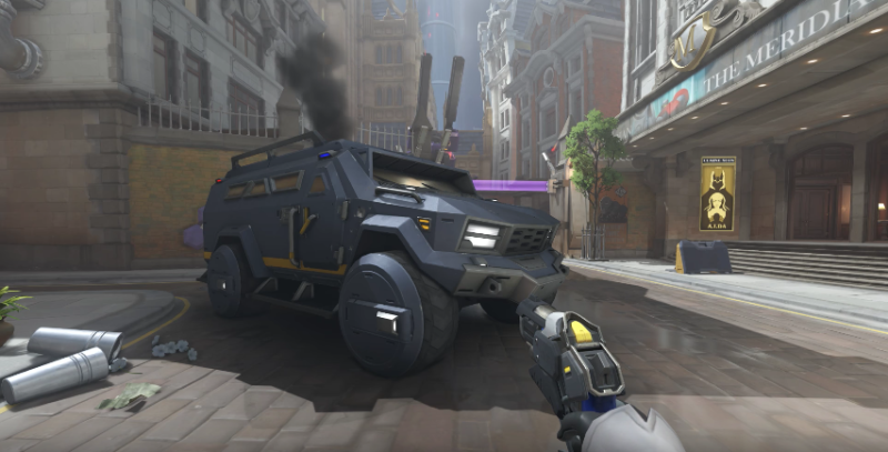 'Overwatch' introduced a car with wheels in Uprising.