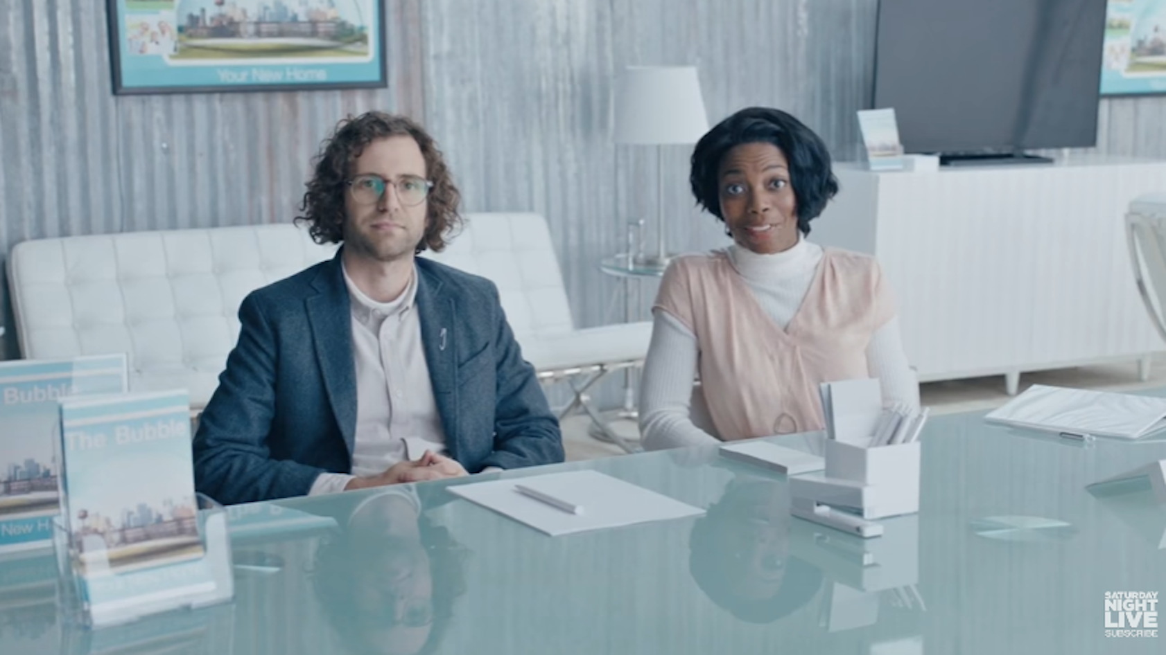 Kyle Mooney and Sasheer Zamata promise the Bubble will be a safe place for those who don't want to live in Trump's America.