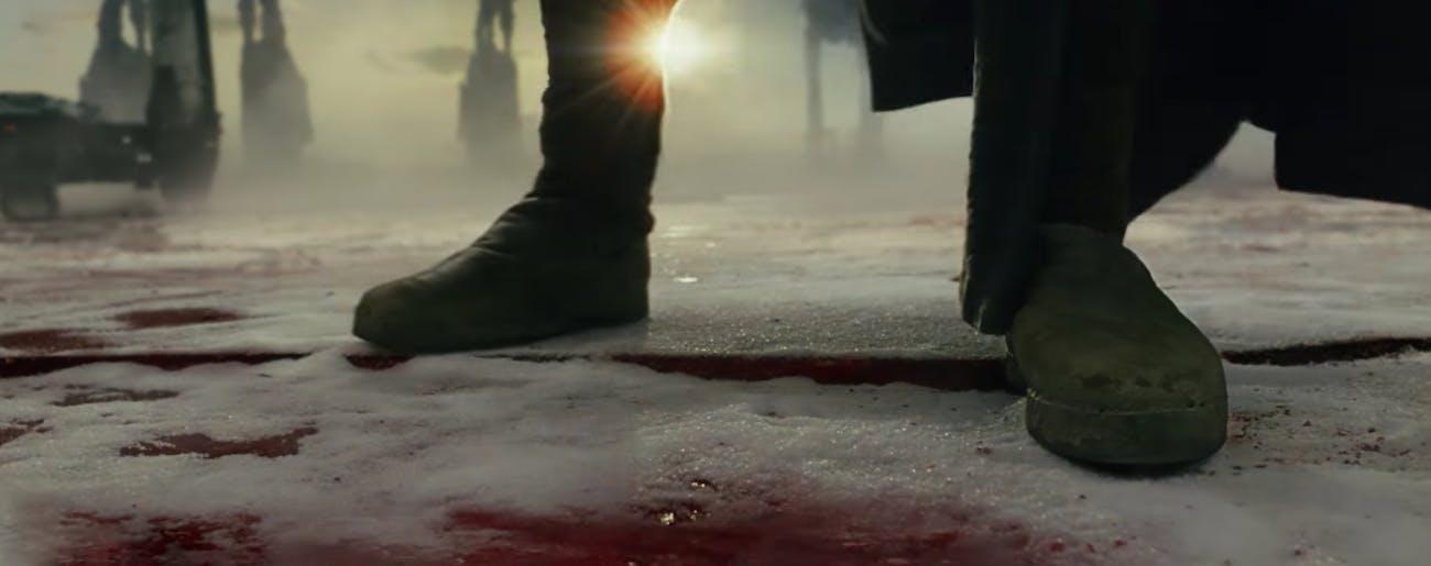 Luke Skywalker shoes