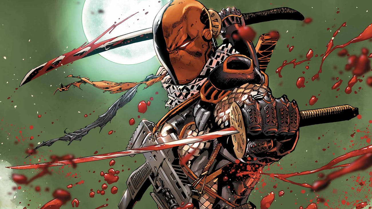Deathstroke DC Justice League